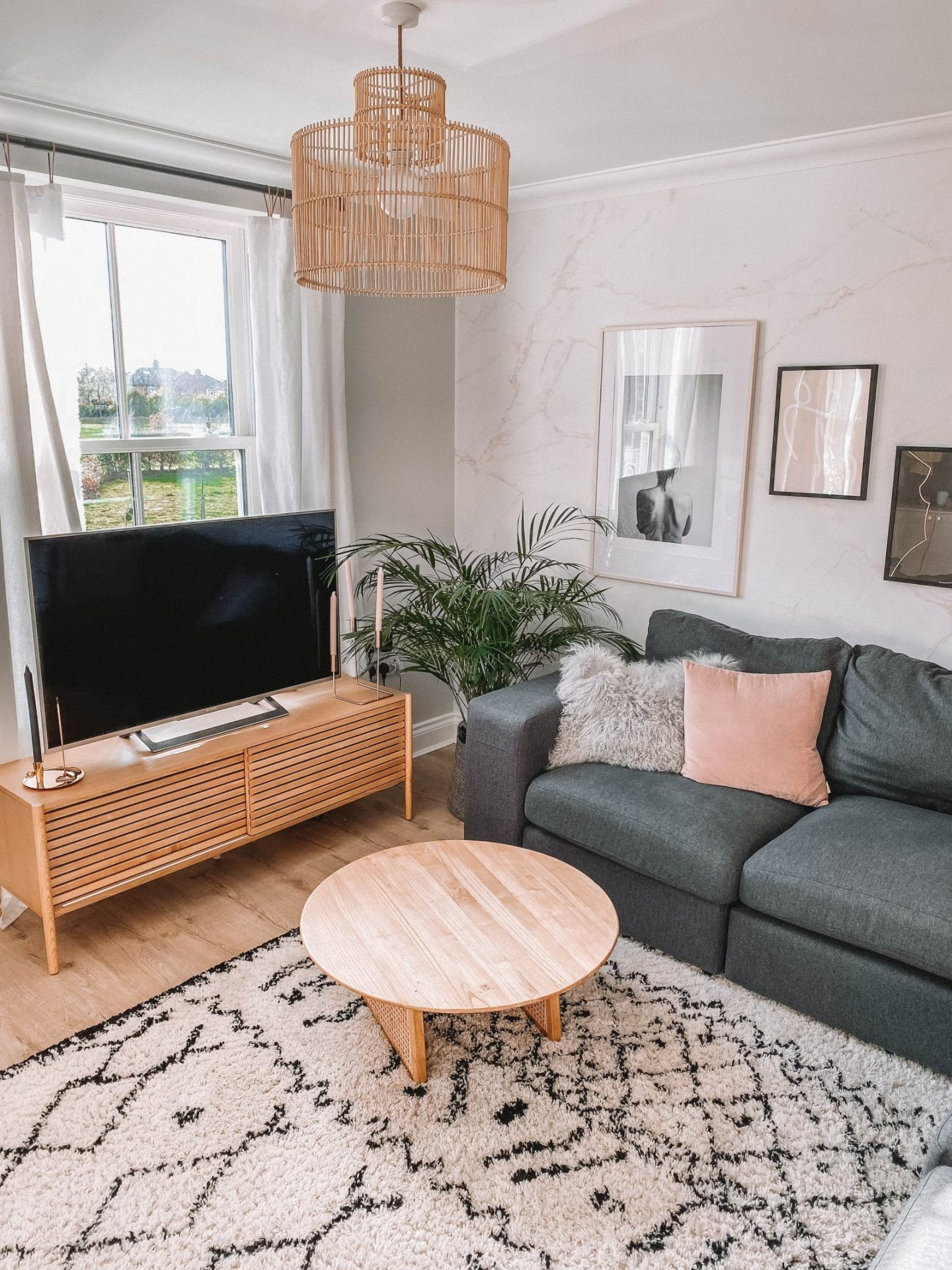 Carly Rowena's Dream Living Room Makeover