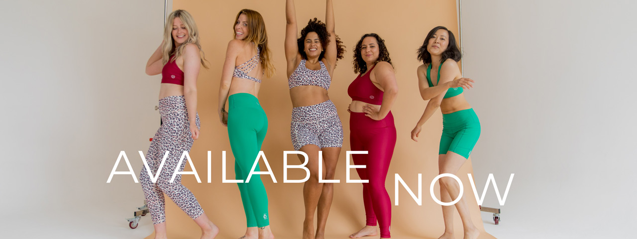 Activewear now available!